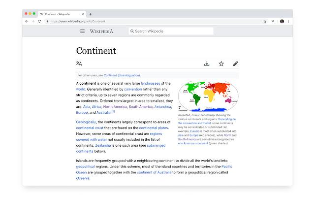 Refined Wikipedia