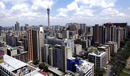A view of Hillbrow and Berea. File photo.