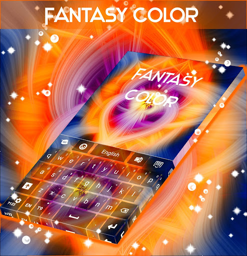 梦幻色彩的键盘