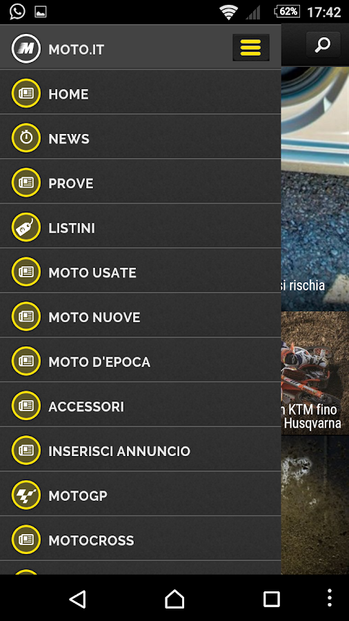 MOTO.IT - News- screenshot