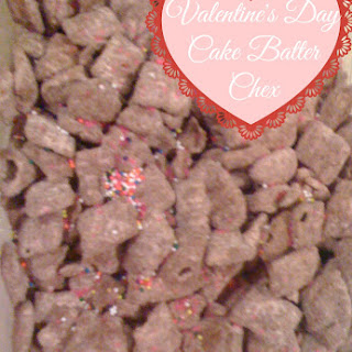Valentine's Day Cake Batter Chex