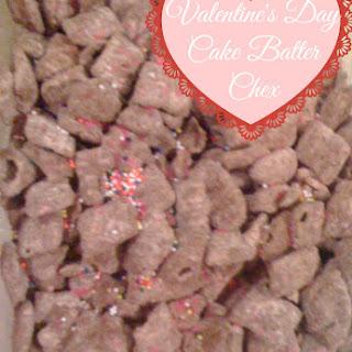 Valentine's Day Cake Batter Chex