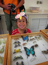 Photo: Kyra and the butterflies
