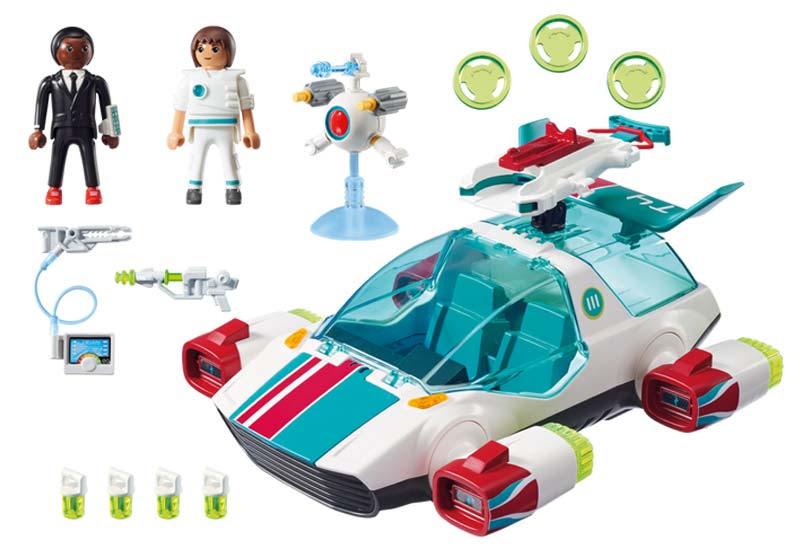 Contenido de Playmobil® 9002 Fulgurix con Agente Gene