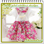 Baby girls clothes design