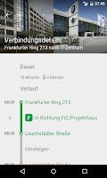 Screenshot of BMW Shuttle Bus Munich