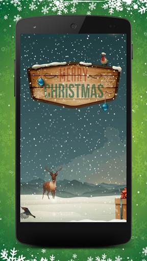 Merry Christmas-Wallpaper
