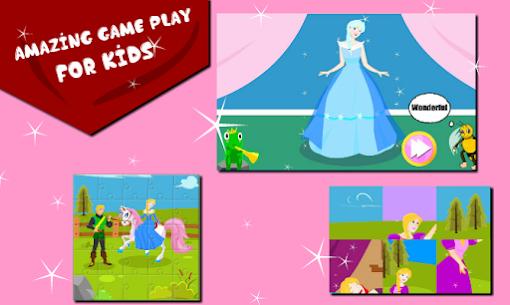 Princess Puzzle & Dressup : Little Bee Kids 2