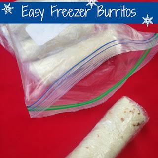 Easy Freezer Burritos