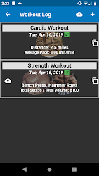 Download Power Log - Bodybuilding and Weight Lifting APK App