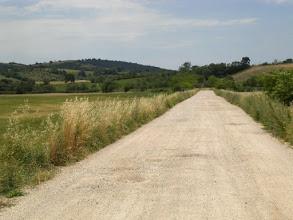 Photo: La strada per arrivare in agriturismo da noi