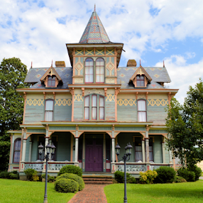 Victorian by Teresa Wooles - Buildings & Architecture Homes ( victorian house, vintage )
