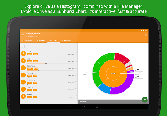 Disk & Storage Analyzer [PRO]- screenshot