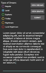 Vision Log - Dream Journal for PC-Windows 7,8,10 and Mac apk screenshot 2