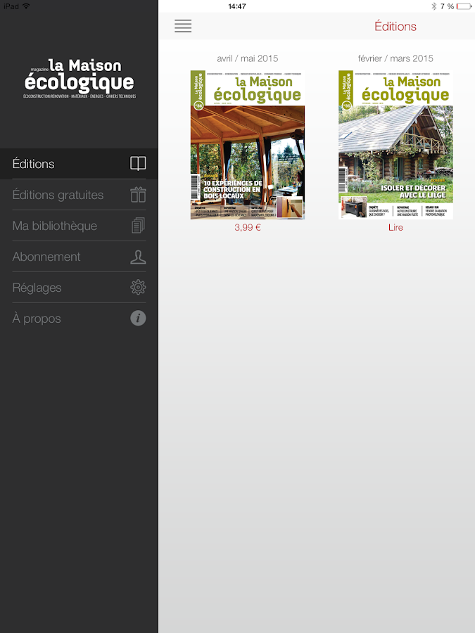 La maison cologique android apps on google play for Application construction maison android