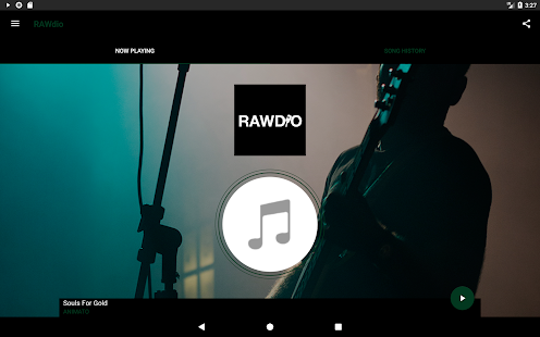 RAWdio- screenshot thumbnail