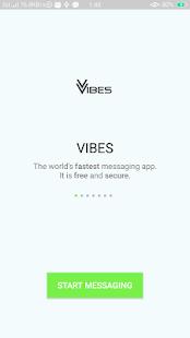 VIBES Messenger - náhled