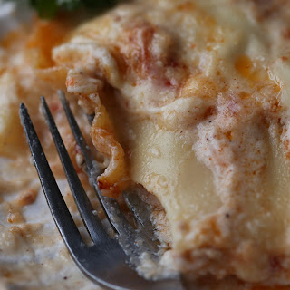 Italian Lasagna with Ground Turkey Ragu and Bechamel Sauce
