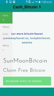 Cash Bitcoin - náhled