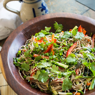 Chilly Chili Soba Noodle Salad