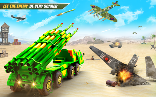 US Army Robot Missile Attack: Truck Robot Games modavailable screenshots 13