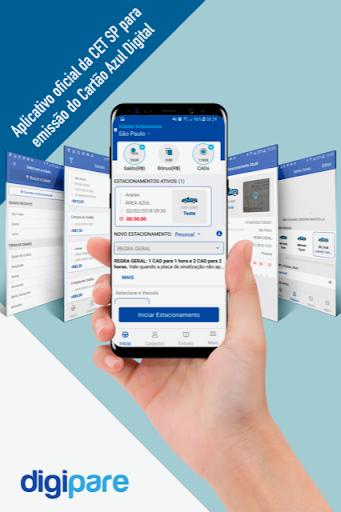Digipare: Blue Zone Parking - Mobile Pay  screenshots 1