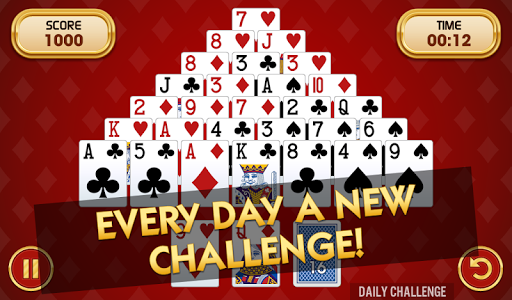 Pyramid Solitaire Challenge modavailable screenshots 5