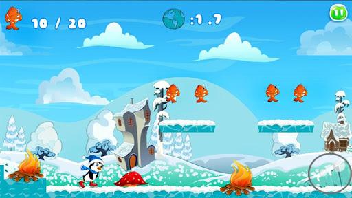 Penguin Skater Run