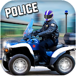 Police Quad 4x4 Simulator 3D Icon