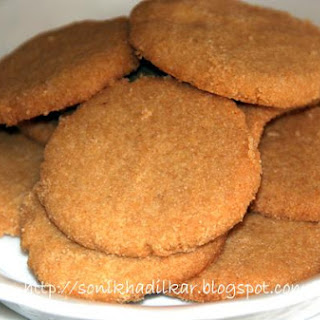 Wheat Nankatai_indian Cookies.