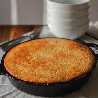 Skillet Cornbread & Chili Pie