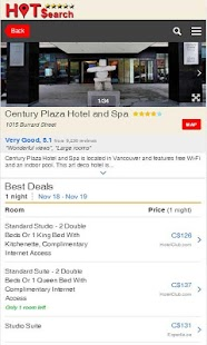 Hot Search for Hotel Discounts- screenshot thumbnail