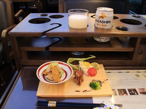 WILLER(網走バス)「レストランバス」 札幌8888 ビアナイト・レストランバスSAPPORO その2
