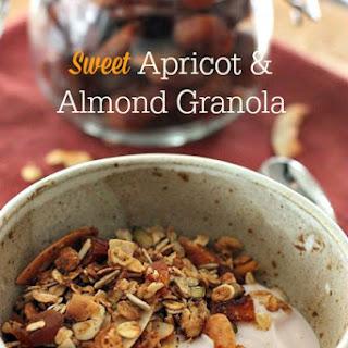 Sweet Apricot & Almond Granola