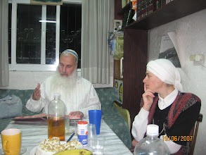 Photo: Rabbi Moshe and Ofra Harari