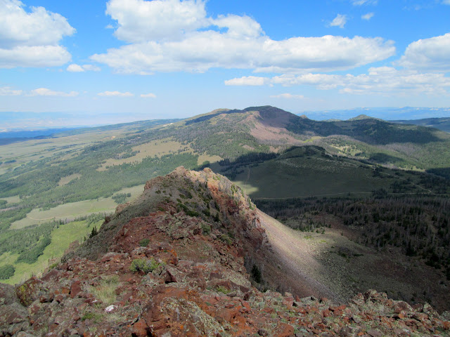 Northerly view to Mount Terrill