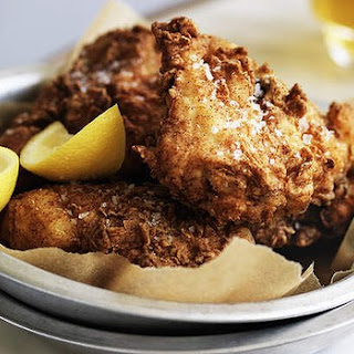 Crisp Buttermilk Fried Chicken