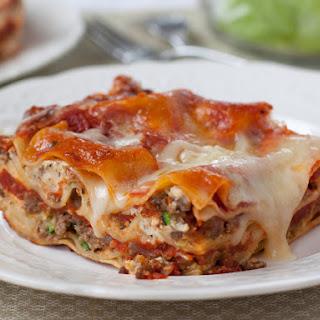 Light & Classic Lasagna.