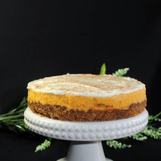 For Spring – Carrot Cheesecake with Cream Cheese Frosting!