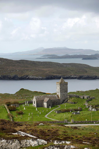 St Clement's is a church that dates to about 1500 in Rodel on the Isle of Harris in Scotland.