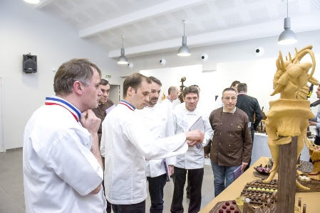 Le concours 2015 Un des meilleurs ouvriers de France chocolatier-pâtissier