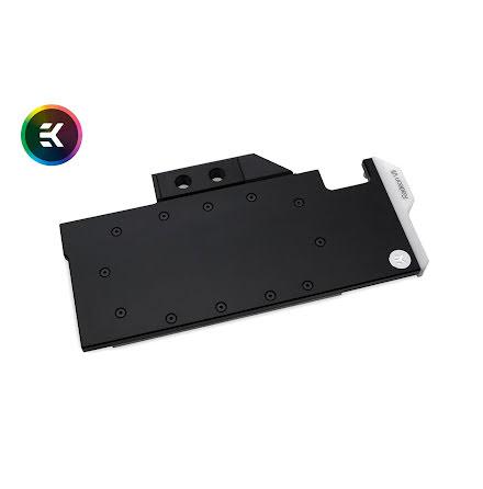 EK vannblokk for skjermkort, EK-Vector Radeon VII RGB - Nickel + Acetal