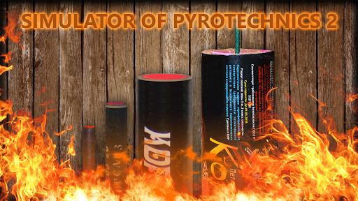 Simulator of pyrotechnics 2