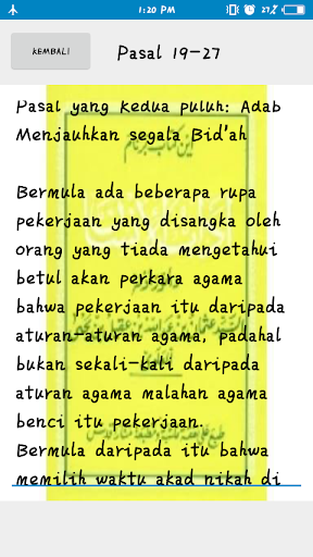 Kitab Adabul Insan screenshot 3