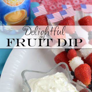Delightful Fruit Dip