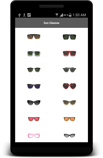 Sunglasses App Photo Editor screenshot 1