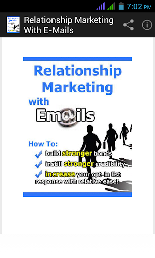 Relationship Marketing emails