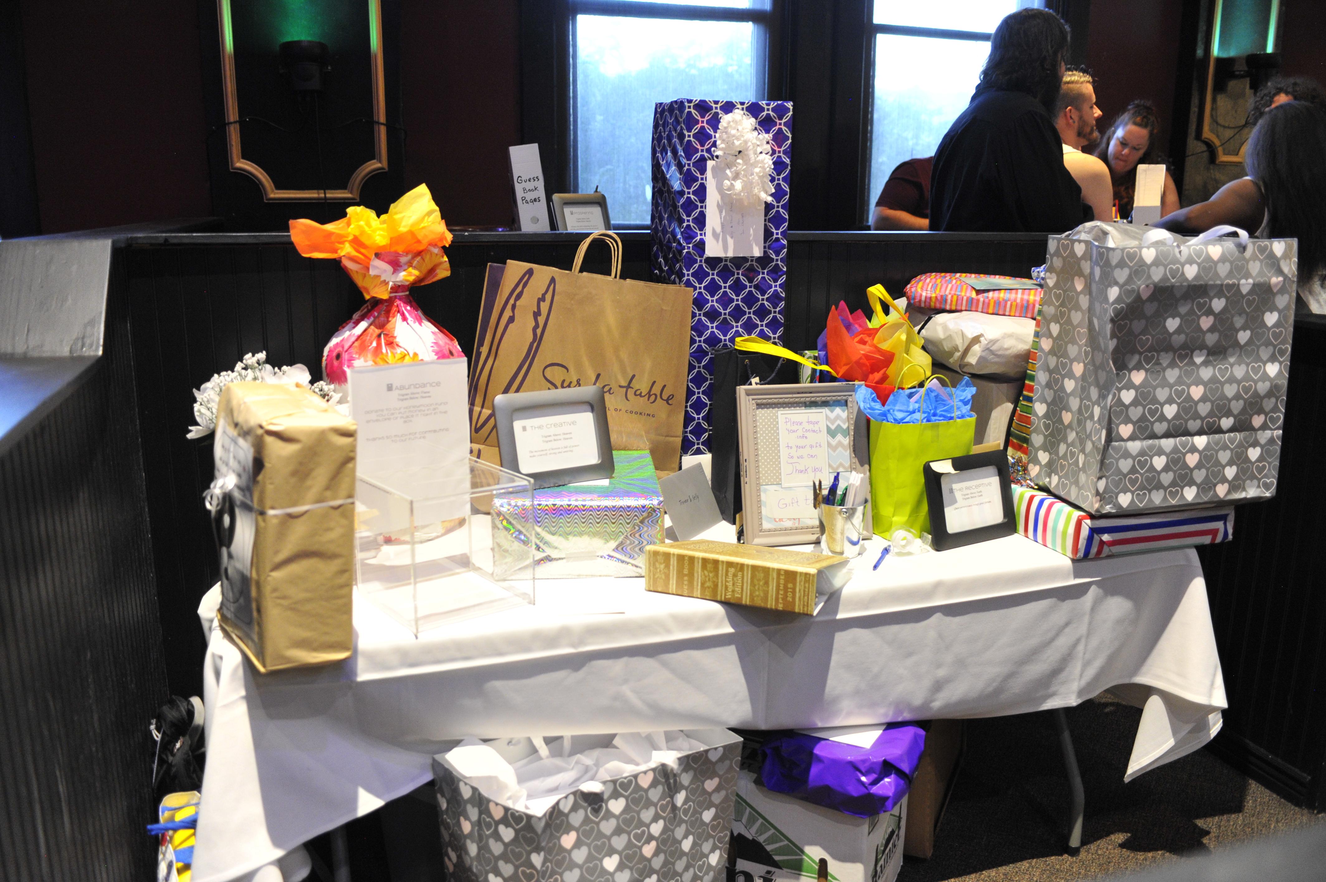 Photo: Our friends' overflowing generosity