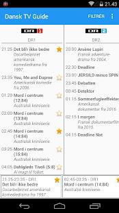 Dansk TV Guide - náhled