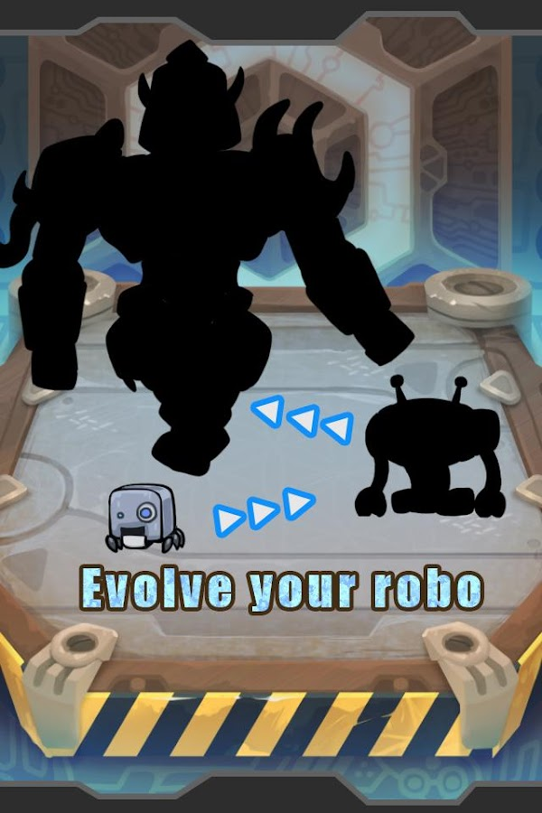 Robo Evolution World- screenshot